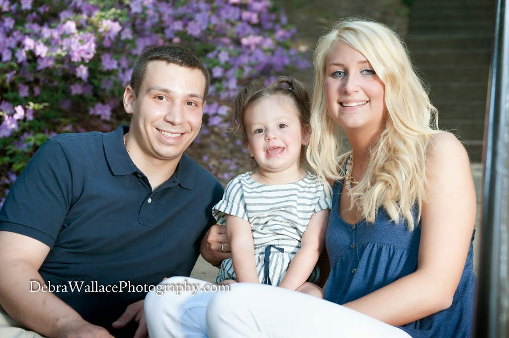 highland park family photography blooming flowers stair case rochester ny