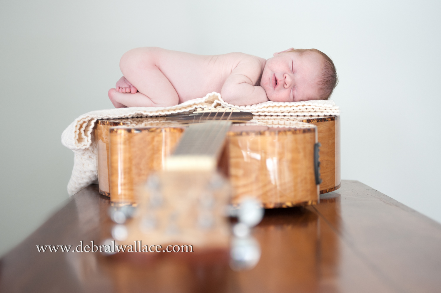 pittsford ny home newborn portraits guitar--5