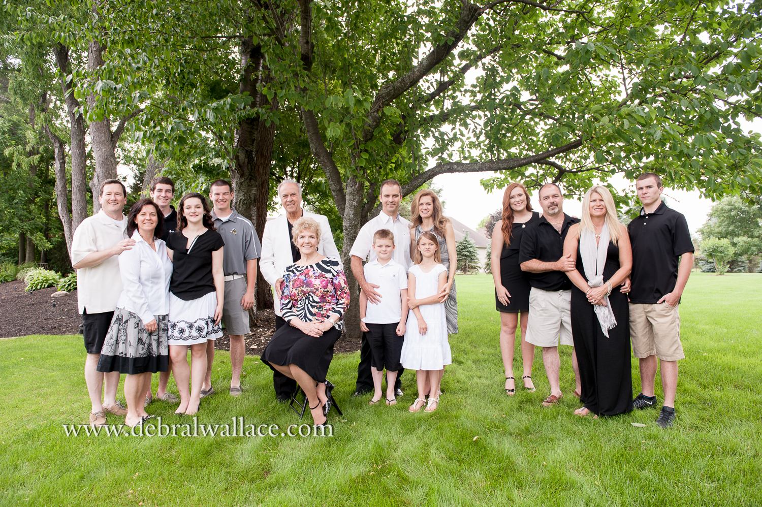 Extended family portrait photography penfield ny-6261