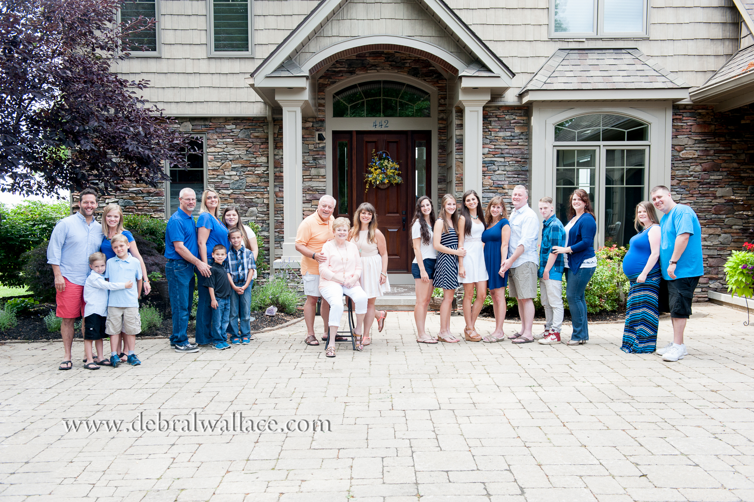 webster ny extended family portraits lake ontario-