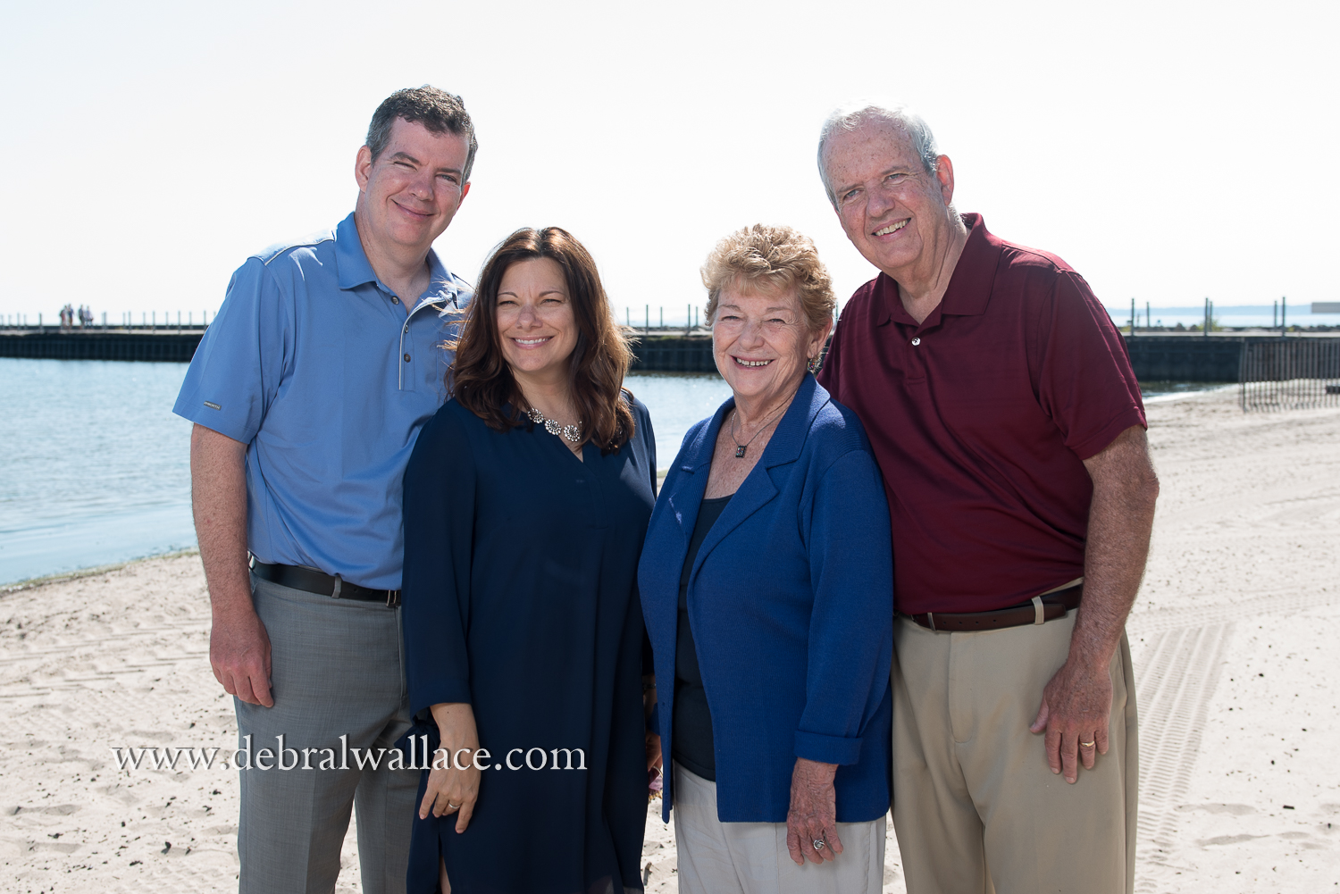 charlotte beach extended family portraits--7
