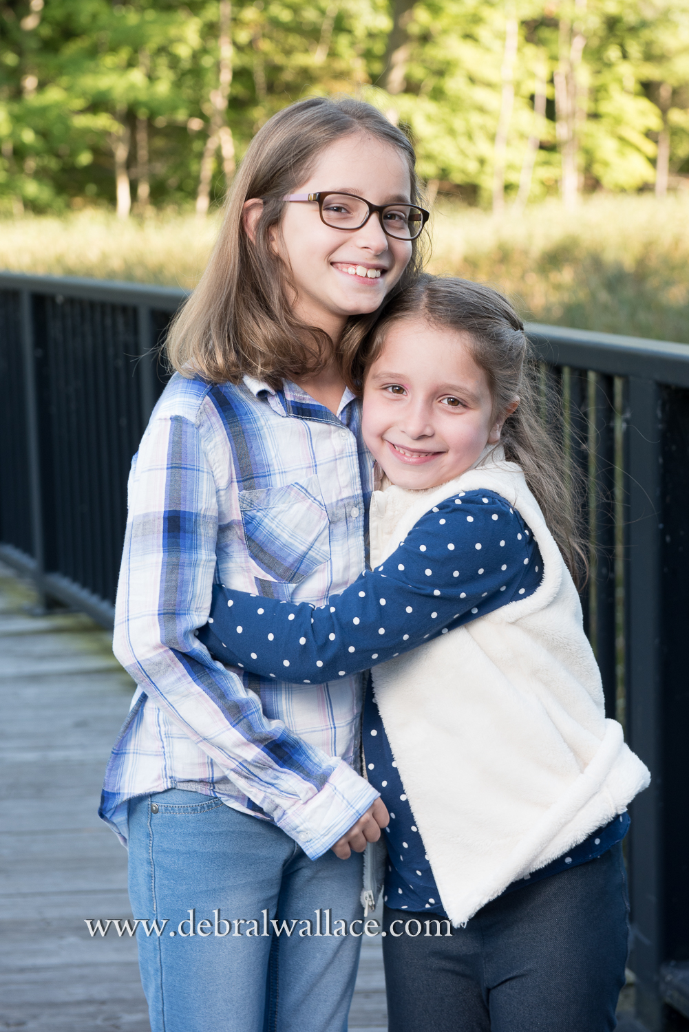 Tamarack Swamp Boardwalk Family Photography