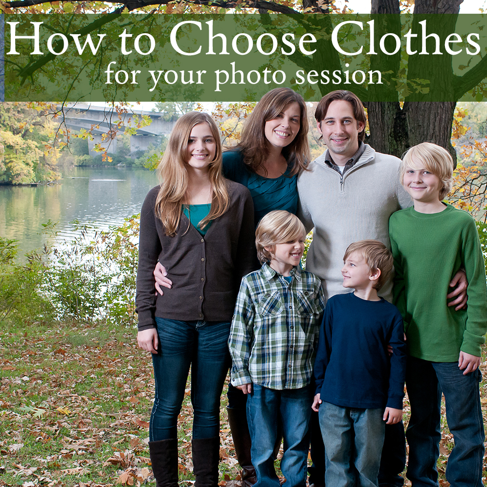 what to wear to your photo session