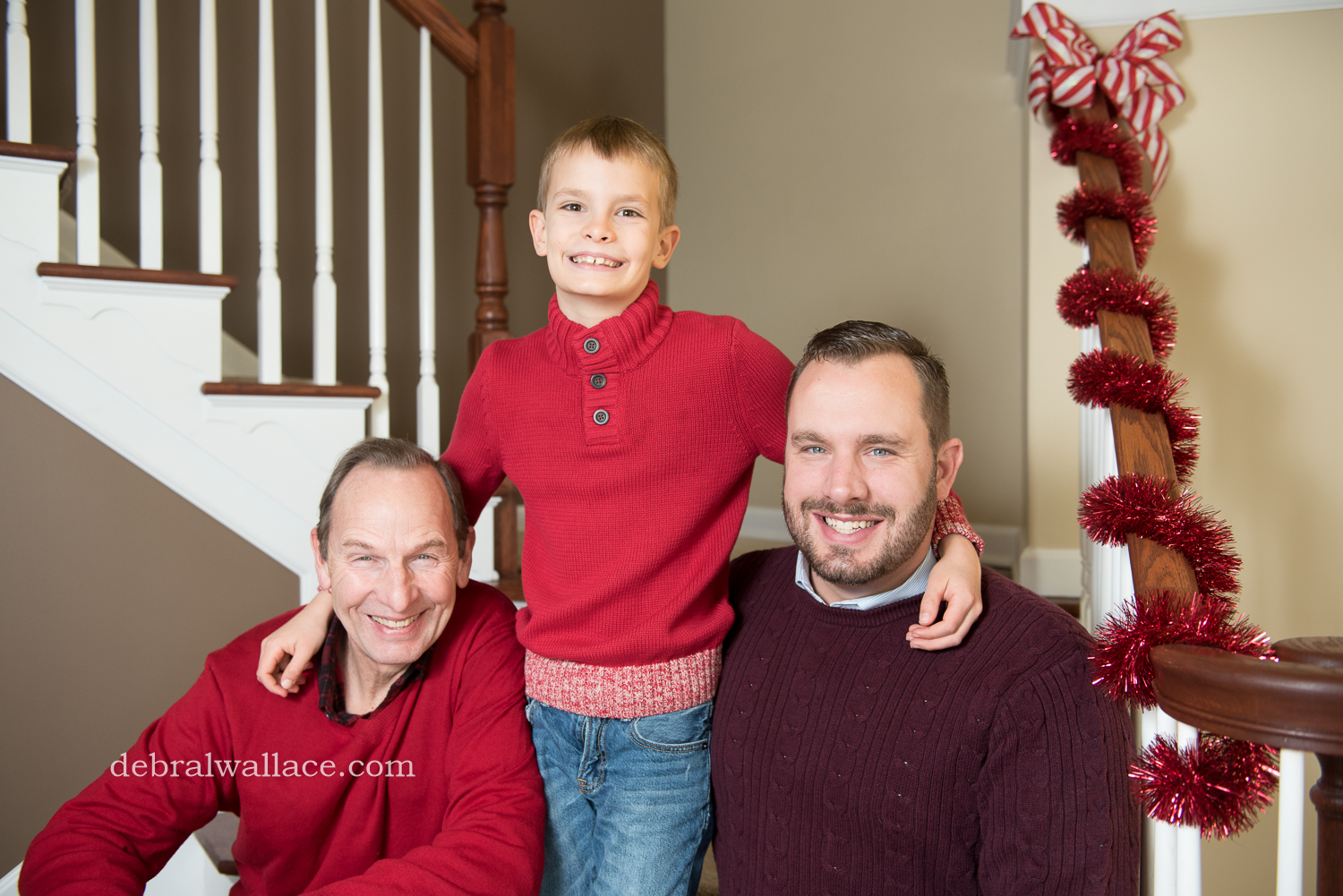 Professional Family Christmas Photos Chili NY