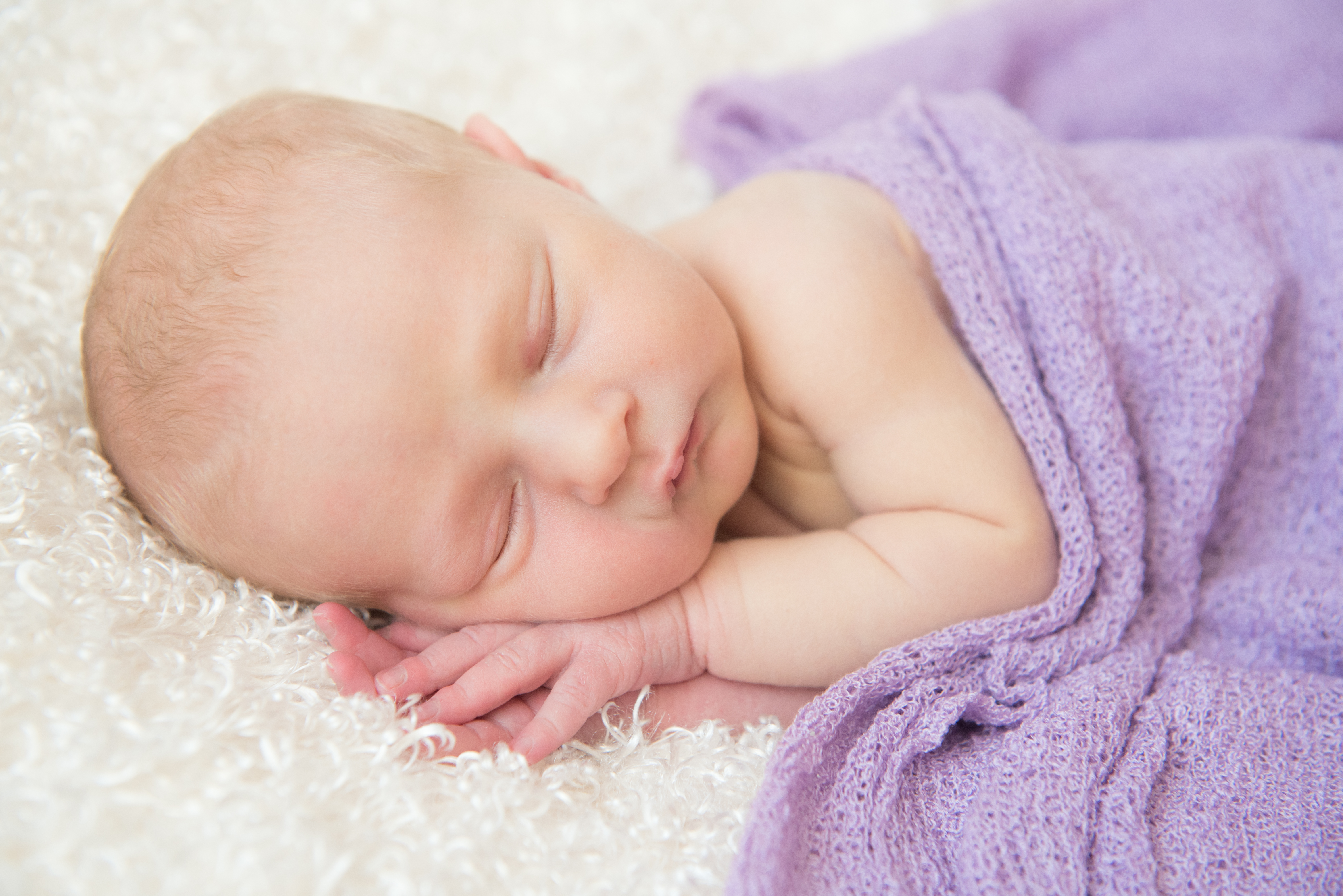 greece ny home newborn photography ~ violet, 8 days old -