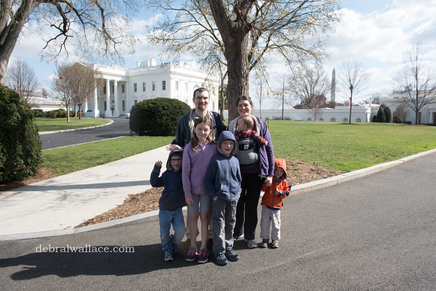 Washington DC ~ the White House, Smithsonians and a Toddler