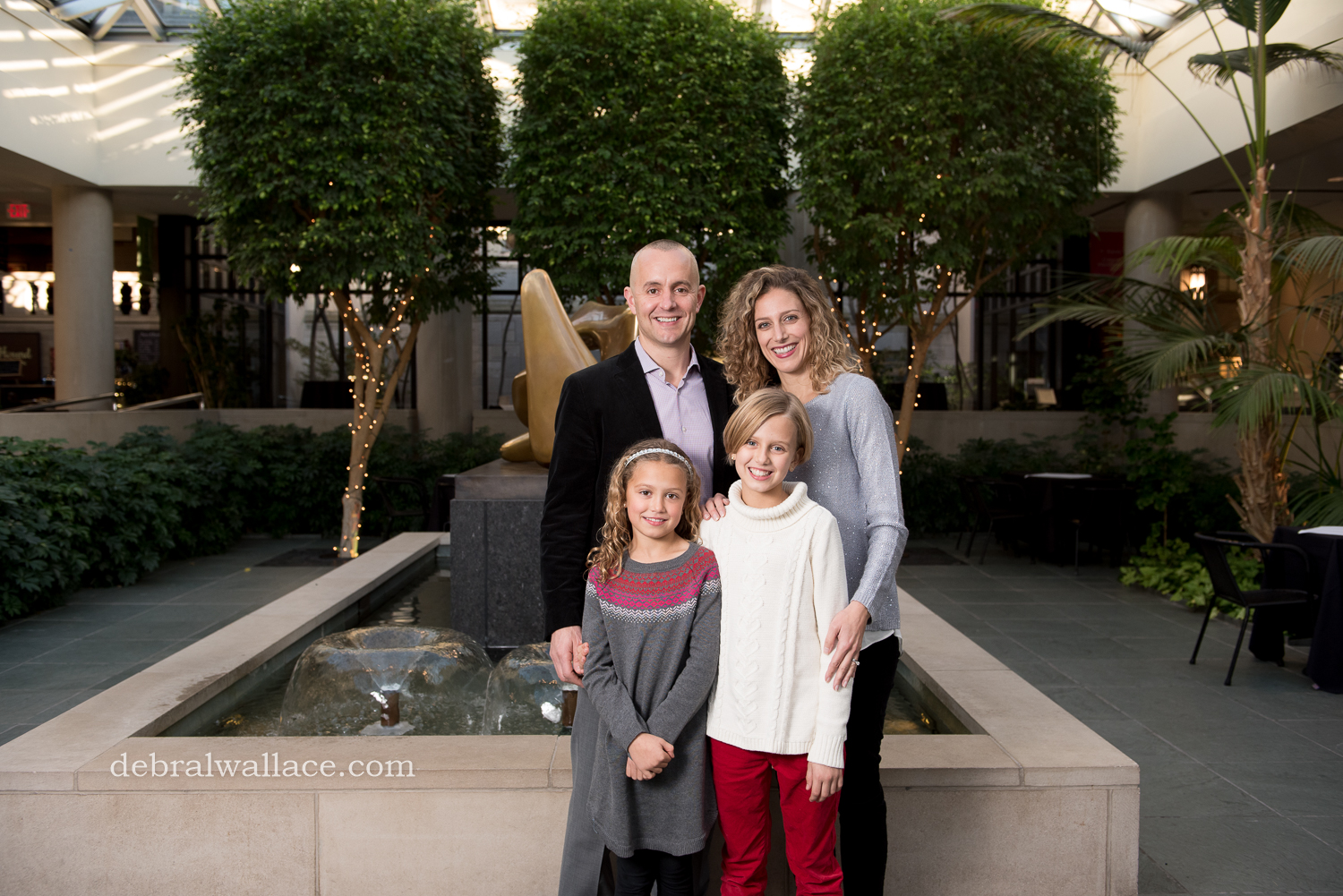 Memorial Art Gallery Family Photography