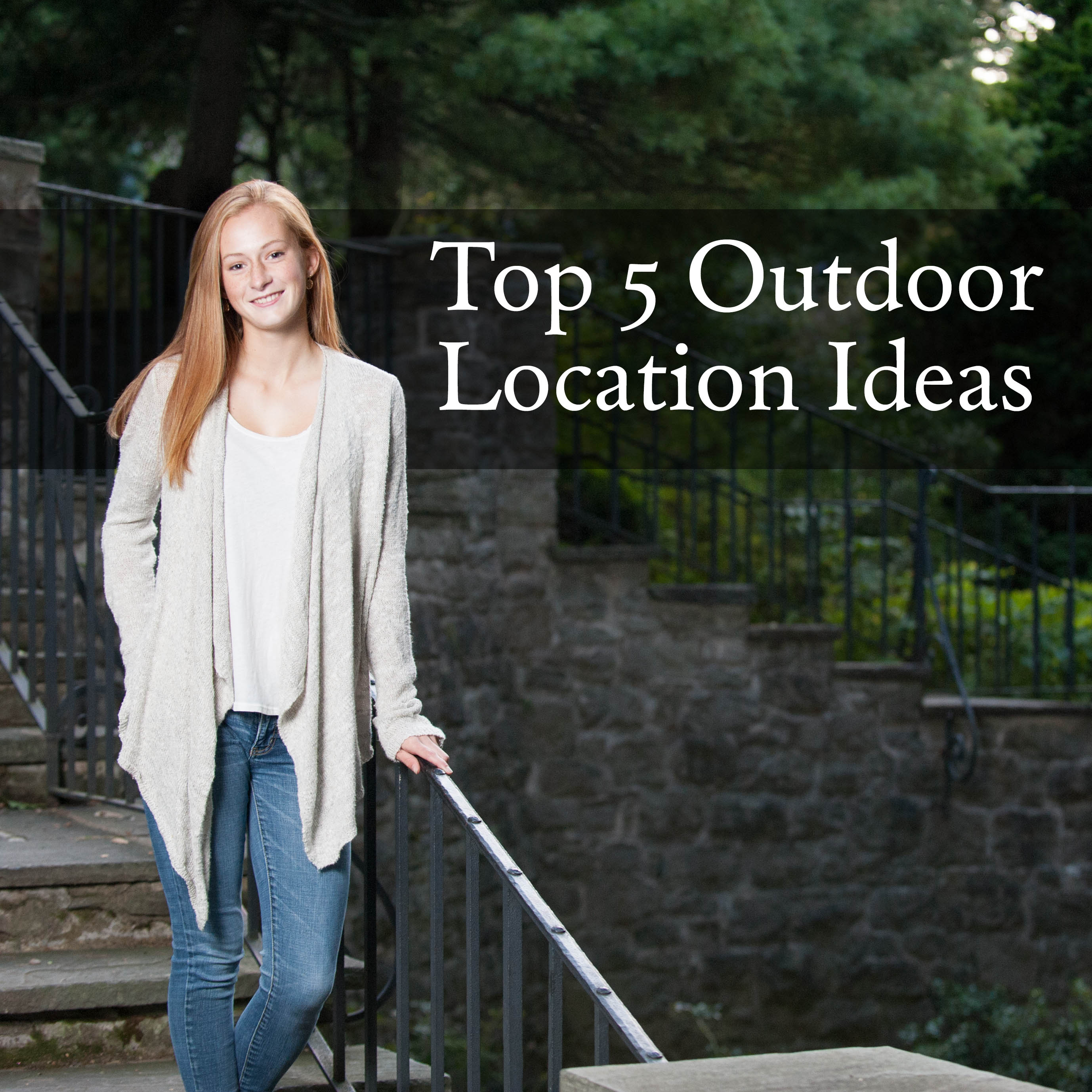 top 5 outdoor portrait photography location ideas in rochester ny