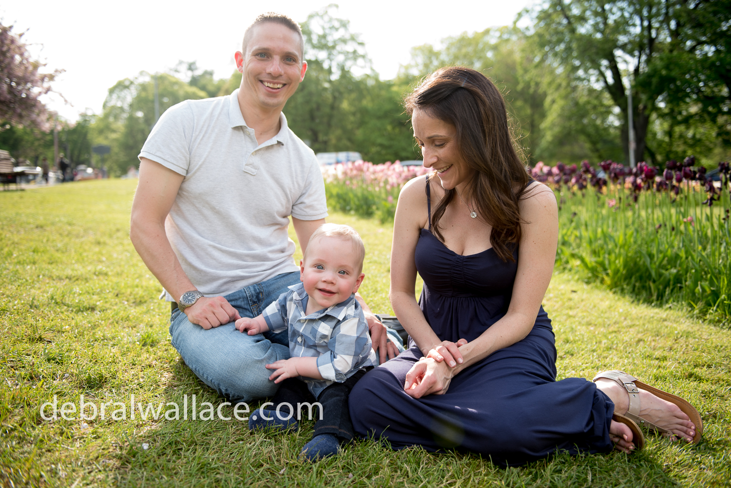 Lilac Festival Family Photography