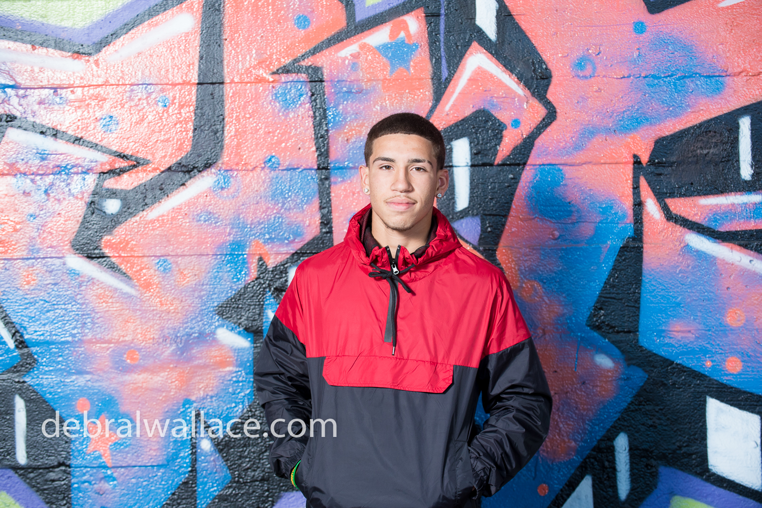 Rochester Subway Tunnel Senior Portrait Photography