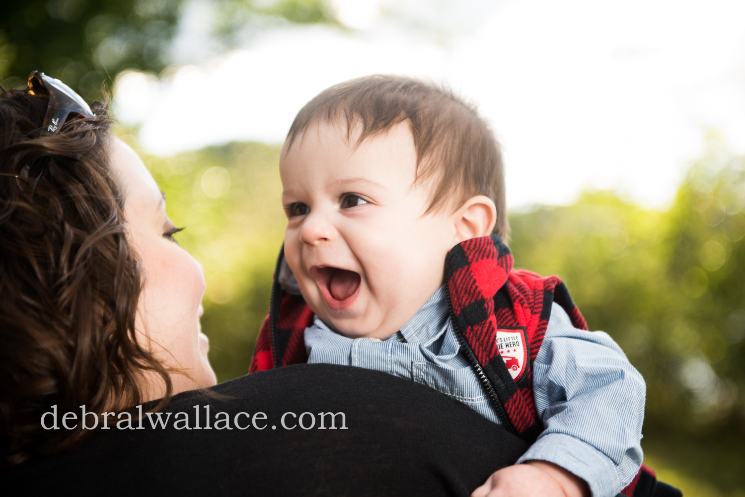 Genesee Valley Park Rochester Baby Photography