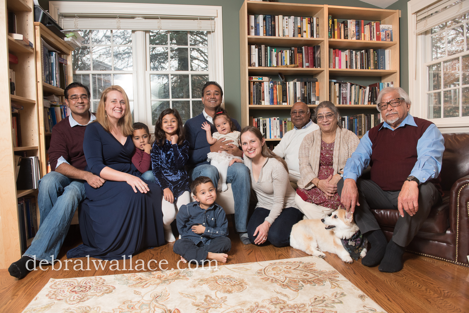 Pittsford NY Professional Extended Family Photography